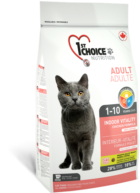 Image of   1st Choice Indoor Vitality Adult - 10kg