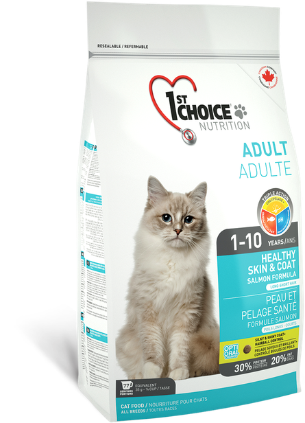 1st Choice Healthy Skin & Coat Adult - 5,44kg