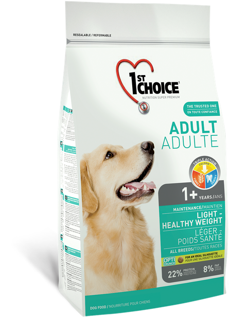 1st Choice Light & Healthy Weight Adult - 12kg
