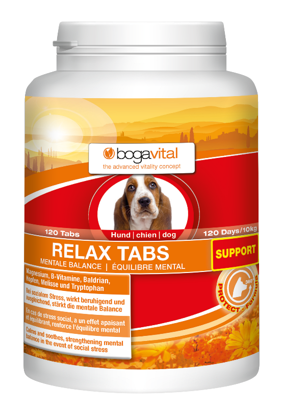 Image of   bogavital Relax Tabs Support 120stk