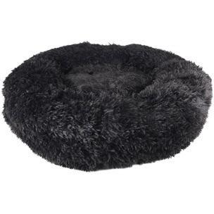 Cushion Krems Donut Sort - Hundeseng