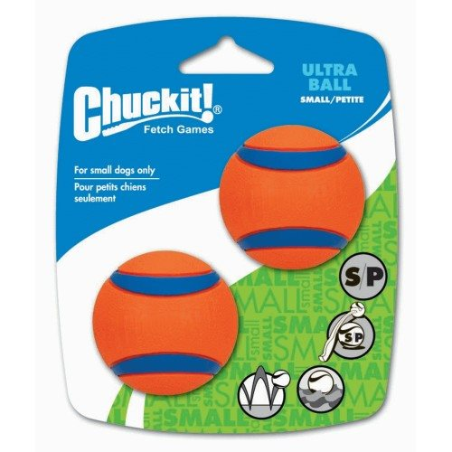 Image of Chuckit Ultra Ball 2-pk Small 5 cm