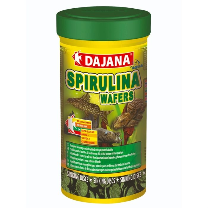Image of   Dajana Spirulina wafers - 250ml