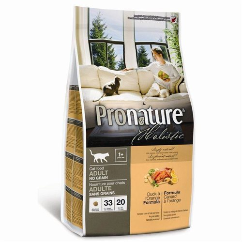Pronature Holistic Cat Duck à l'Orange Adult - Kornfri 2,72kg