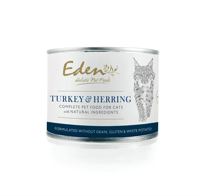 Image of   Eden Turkey & Herring - Vådfoder til katte 200g
