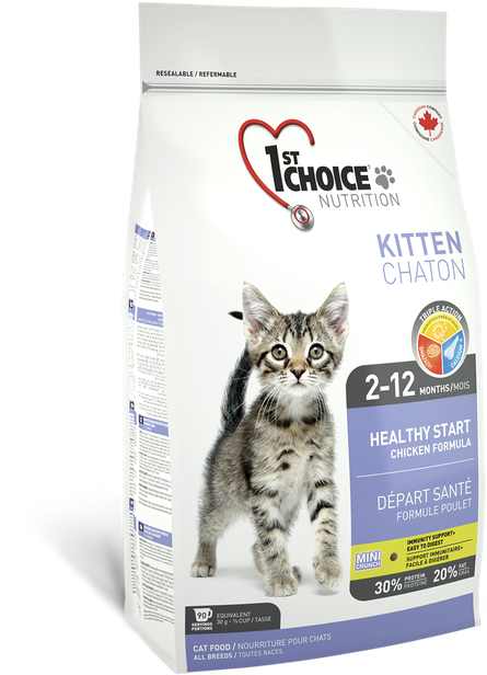 Image of   1st Choice Healthy Start Kitten - 2,72kg