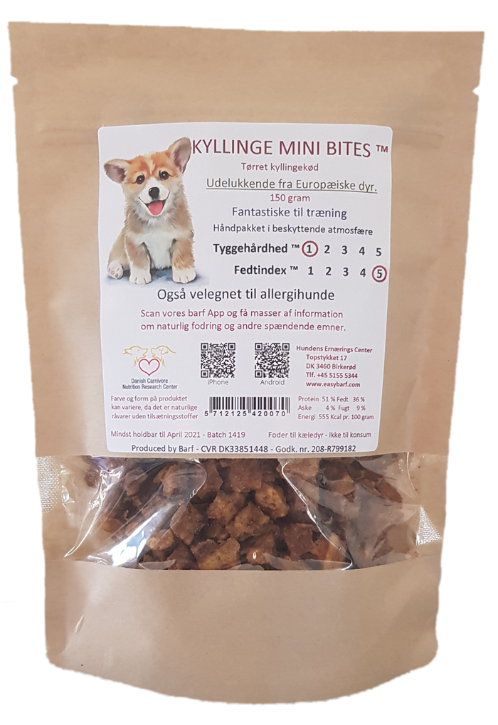 Image of   Kyllinge Mini Bites - 500g