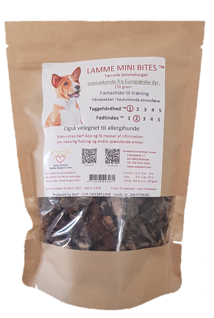 Image of   Lamme Mini Bites - 150g