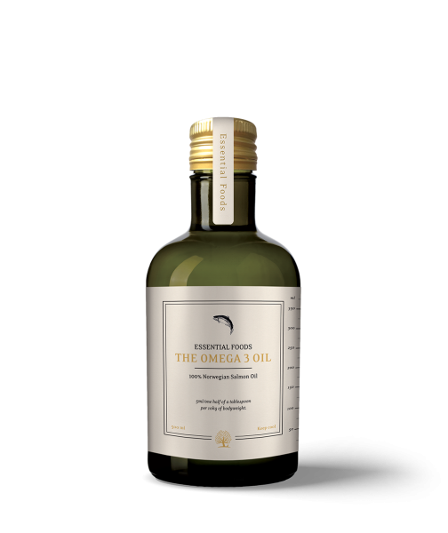 Image of   The Omega 3 Oil - Lakse olie - 500ml