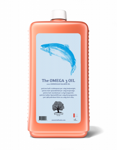 Image of   The Omega 3 Oil - Lakse olie - 1L