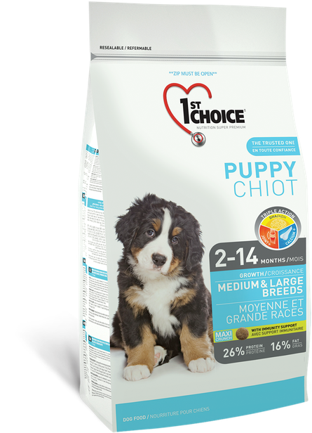1st Choice Medium/Large Puppy - 15kg