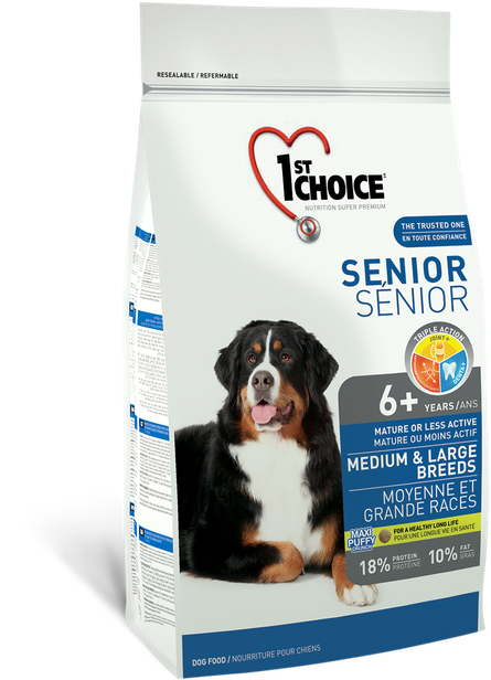 1st Choice Medium/Large Senior/Less Active - 14 kg