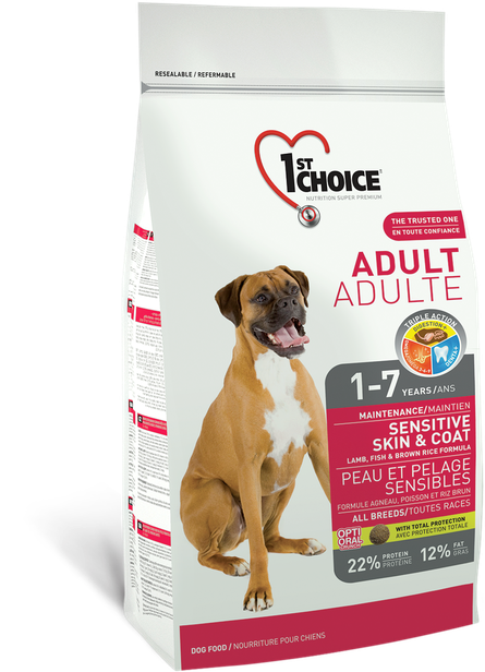 1st Choice Sensitive Skin & Coat - 15kg