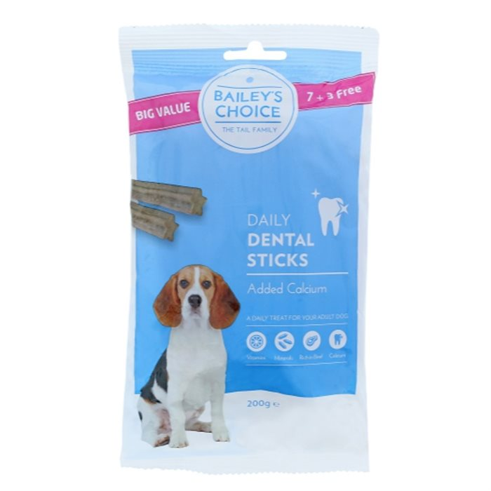 Image of   Bailey's choice Dental Sticks - 200gr