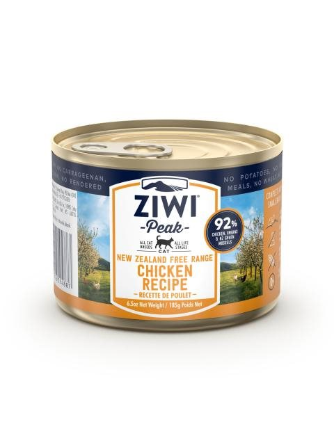 Ziwipeak cat cans Chicken 185g