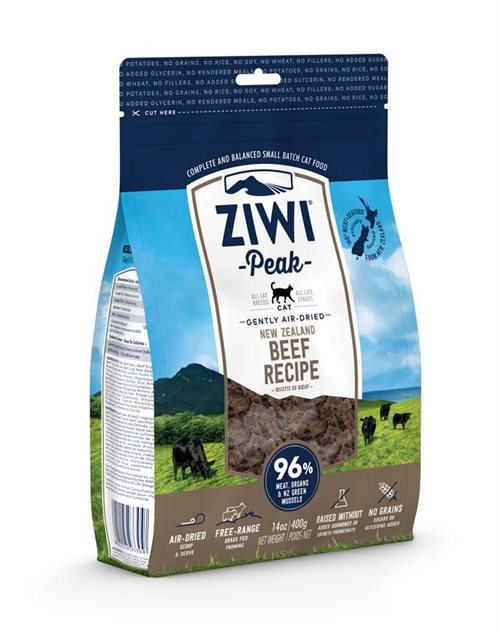 ZiwiPeak Cat Air-dried Beef - 400g