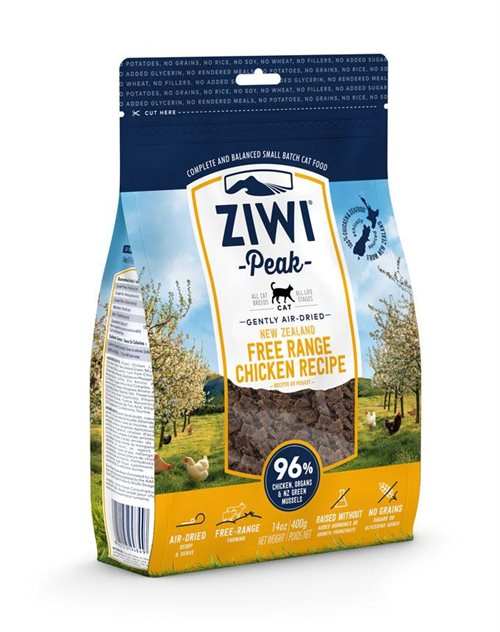 ZiwiPeak Cat Air-dried Chicken - 400g