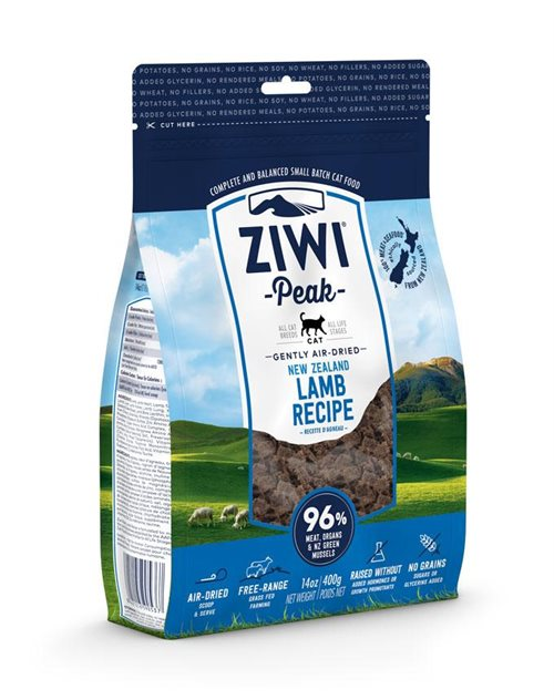 ZiwiPeak Cat Air-dried Lamb - 400g