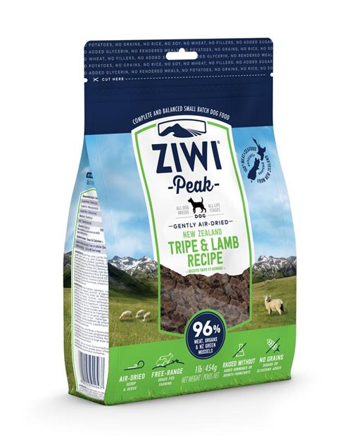 ZiwiPeak Dog Air-dried Tripe & Lamb