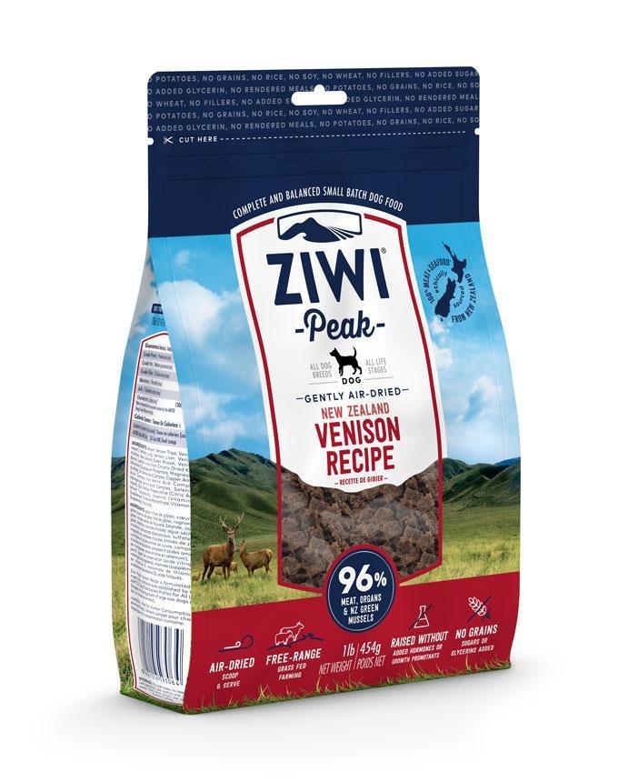 ZiwiPeak Dog Air-dried Venison